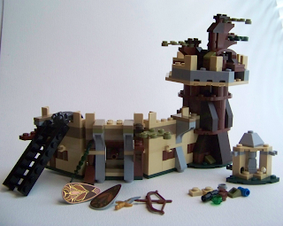Mirkwood Elf Army build fortress