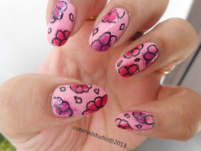 cute nails my birthday nails simple flower doodles