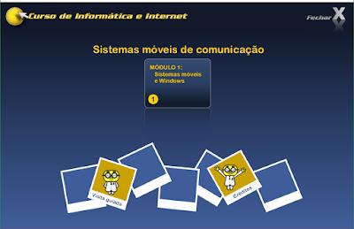CURSO DE INFORMÁTICA E INTERNET - SISTEMAS MÓVEIS DE COMUNICAÇÃO