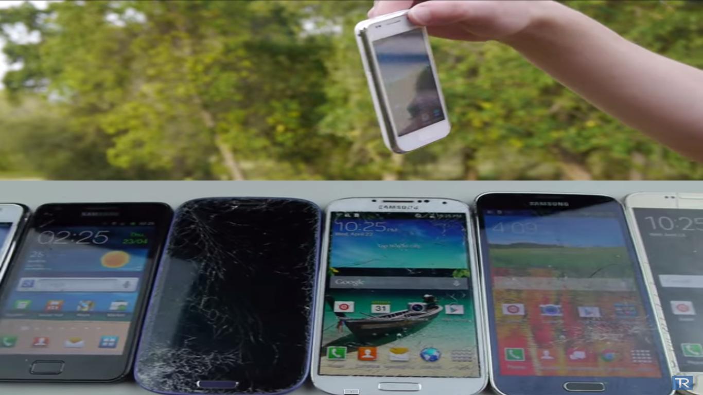 Samsung Galaxy S6 vs S5 vs S4 vs S3 vs S2 vs S1 Drop Test, samsung galaxy, drop test,