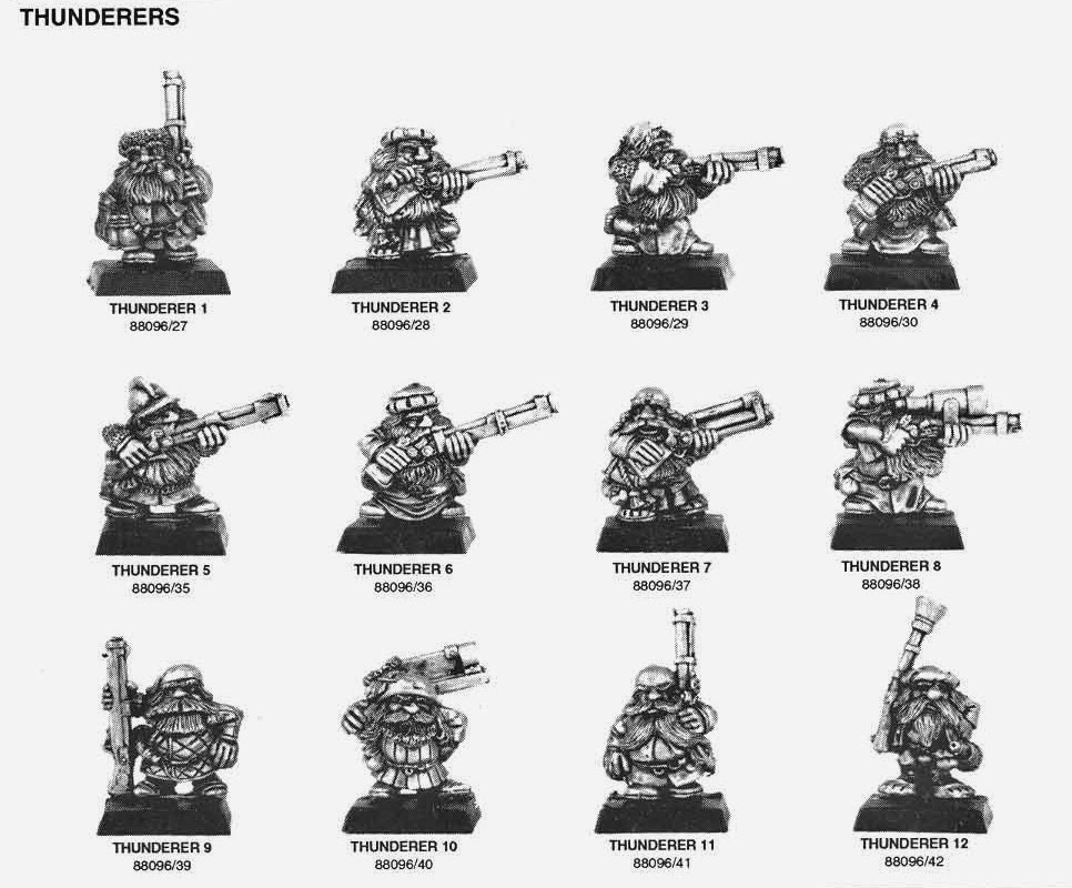 MM16 - Dwarf Thunderers de 1993