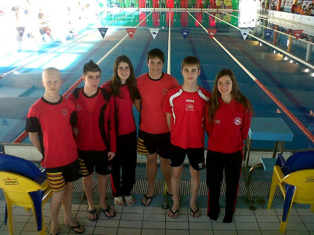 Club nataci n bajo arag n resultados del campeonato de for Piscina olimpica madrid