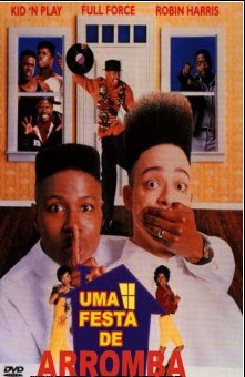 Filme Uma Festa De Arromba House Party 1990 DVDRip AVI Comedia Dublado