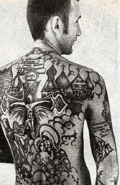 Tattoo Art Russian Criminal Tattoos Russian Church Tattoos