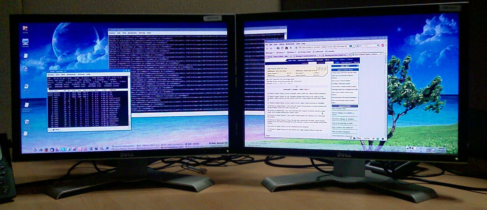 Windows and Android Free Downloads : Dual display setup windows 7