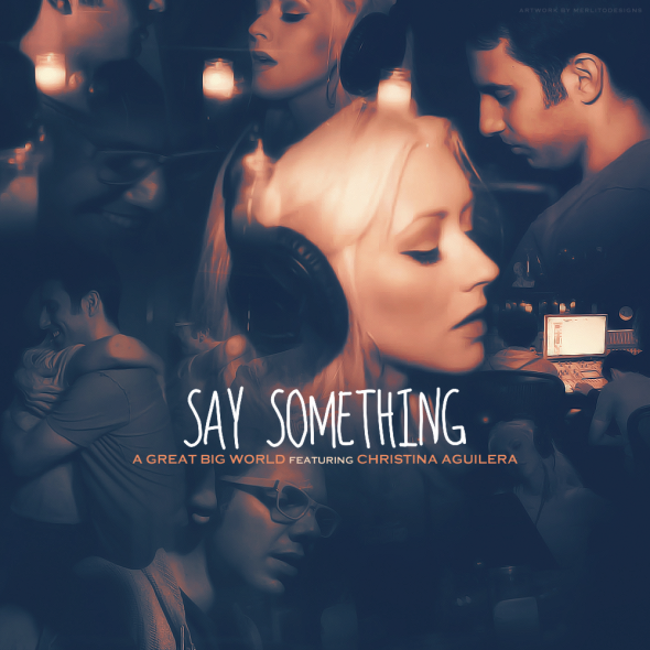 letra de la cancion say something: