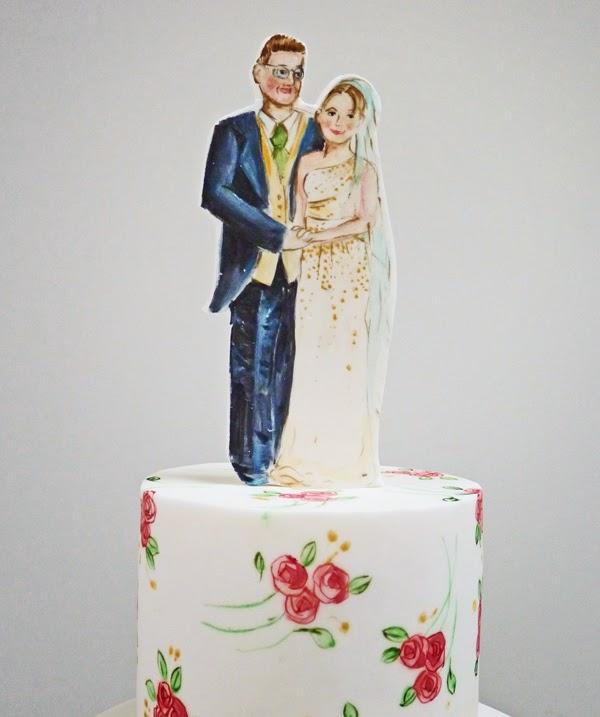 Art Deco Wedding Cake Topper Uk