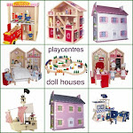 Wooden Doll Houses, Play centers