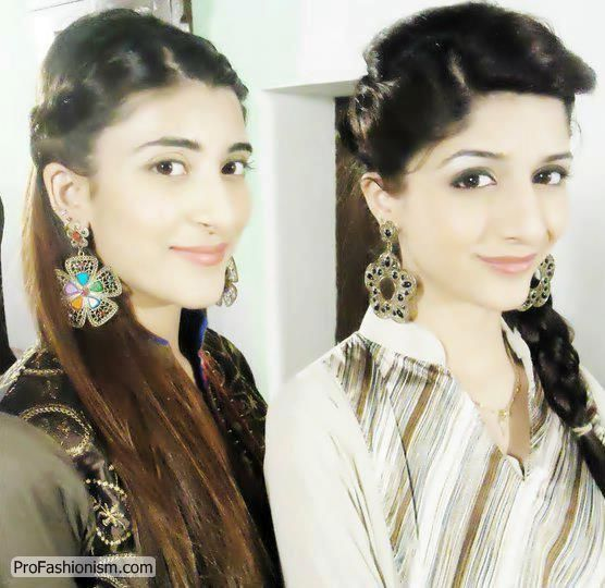 Vj Urwa And Mawra Hussain Stills Profashionism