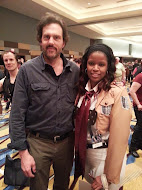 Me and Silas Weir Mitchell (Monroe from Grimm)