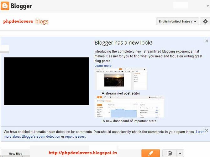 Blogging - Blogger