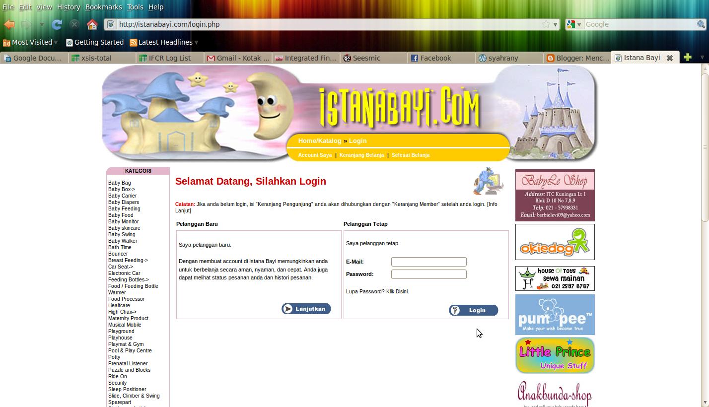 Belanja Online Ala Istanabayidotcom Tulislah Sebelum Hilang Dari Kantong Cadangan Food Feeder Dot Berikutnya Adalah Ketika Saya Menekan Tombol Selesai