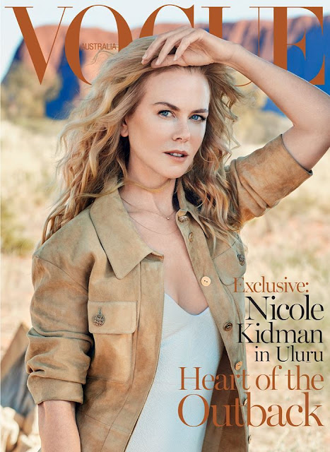 Actress @ Nicole Kidman by Will Davidson for Vogue Australia, September 2015