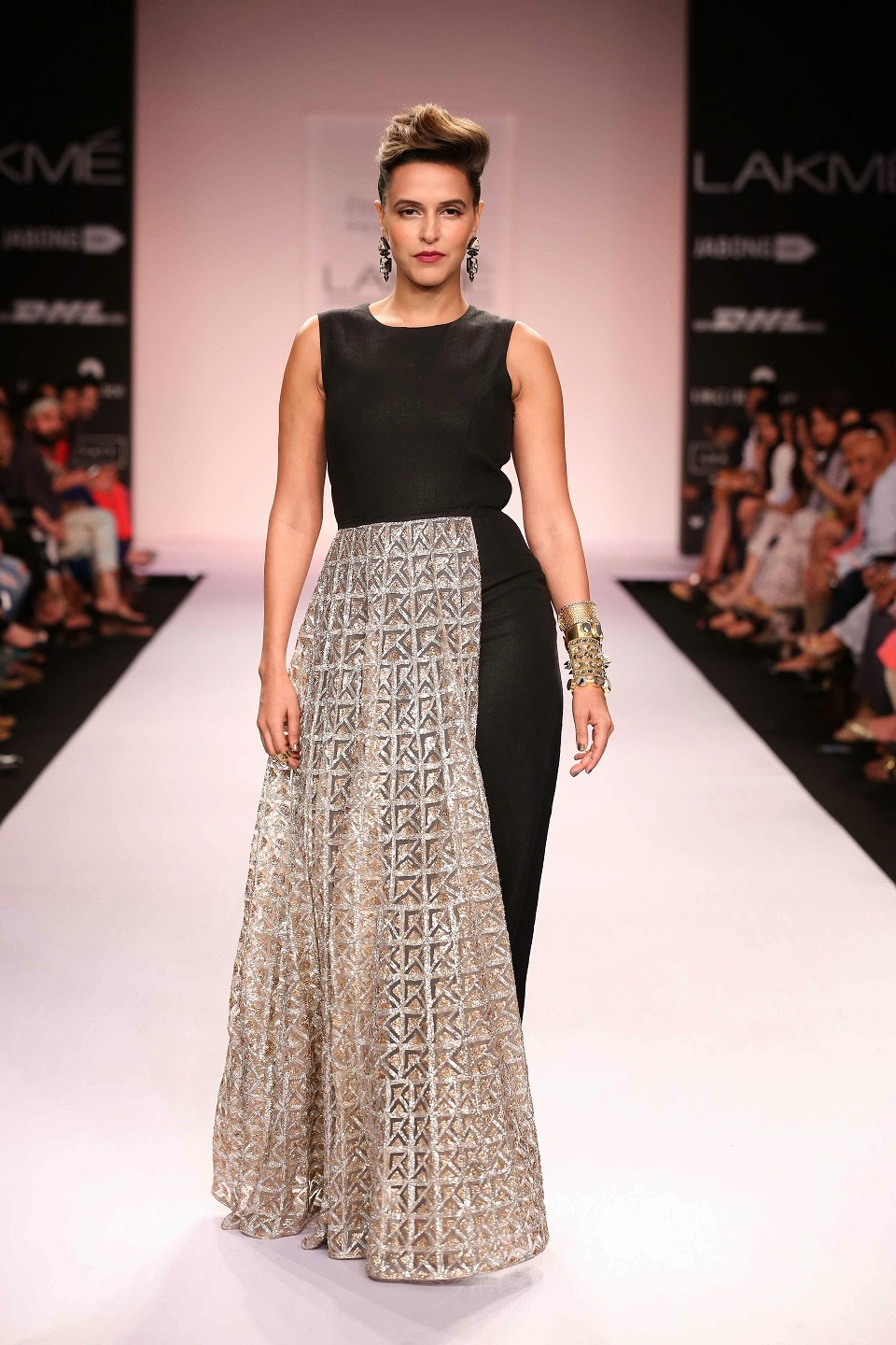 Lakme Fashion Week Plus Size Models Dipti