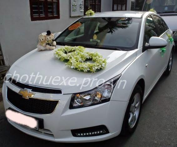 Cho thuê xe cưới giá rẻ Chevrolet Cruze tại Hà Nội - công ty Đức Vinh Trans 1
