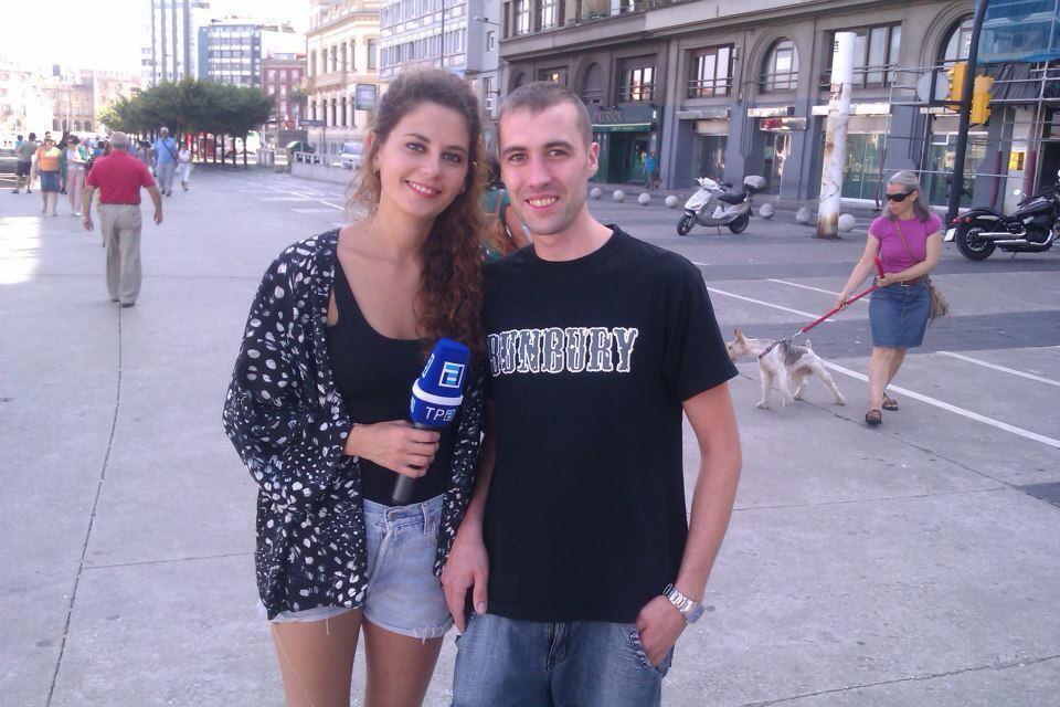 Entrevista en Televisión Principado de Asturias