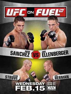 UFC on Fuel TV Sanchez vs Ellenberger (2012)