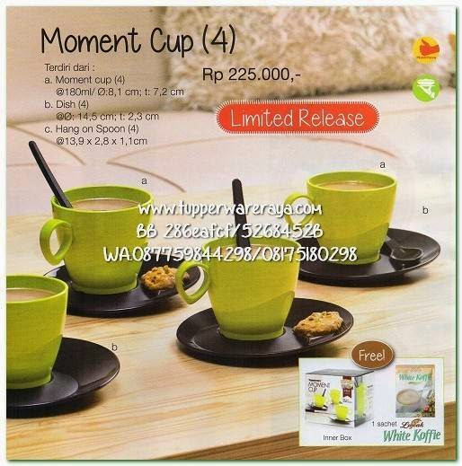 Tupperware Promo April 2015 Momment Cup