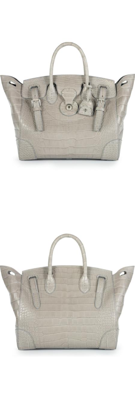 Ralph Lauren Alligator Soft Ricky handbag accessories