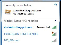 Jaringan Internet Error (hanya tanda seru!!!)