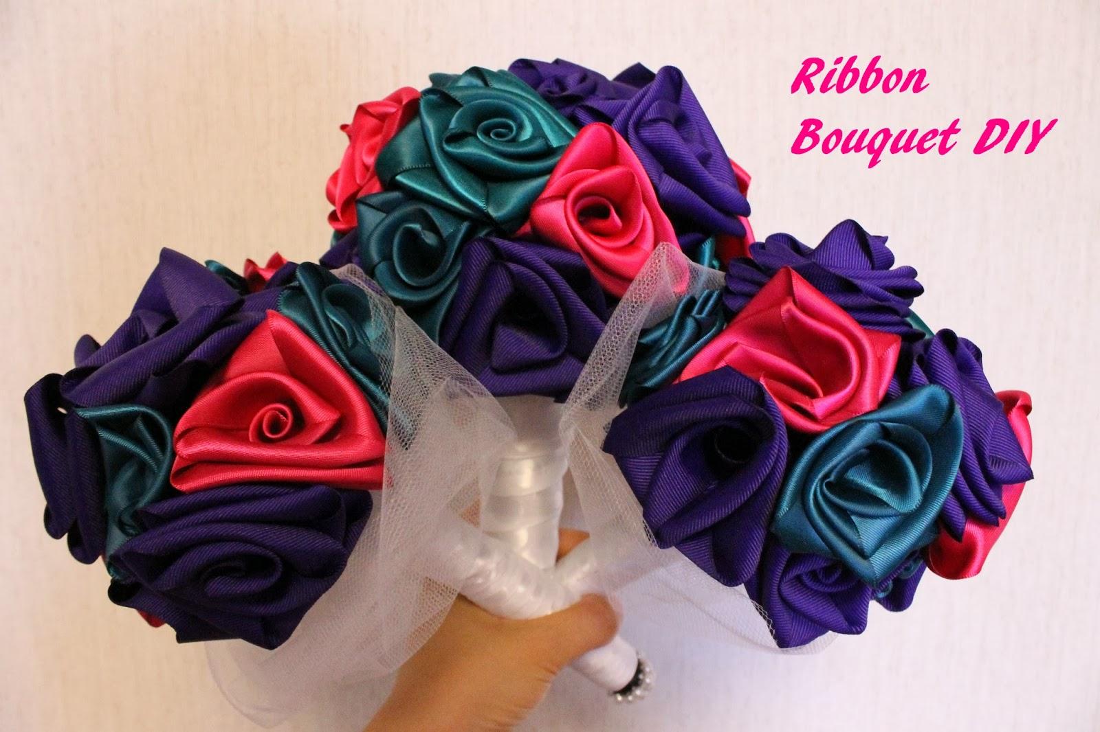 Dreaming Of Dinosaurs Ribbon Wedding Bouquet Diy