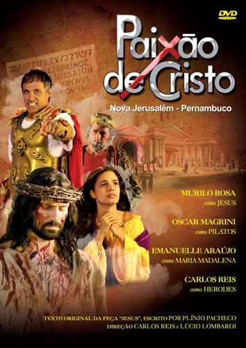 Filme Poster Paixão de Cristo de Nova Jeruzalém DVDRip XviD & RMVB Nacional