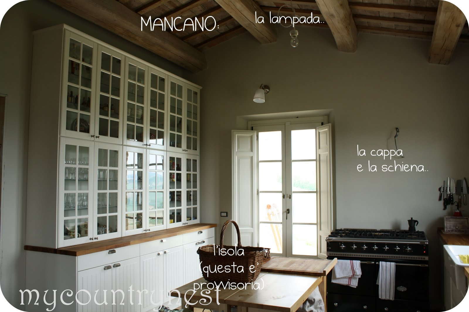 My country nest: La nostra cucina
