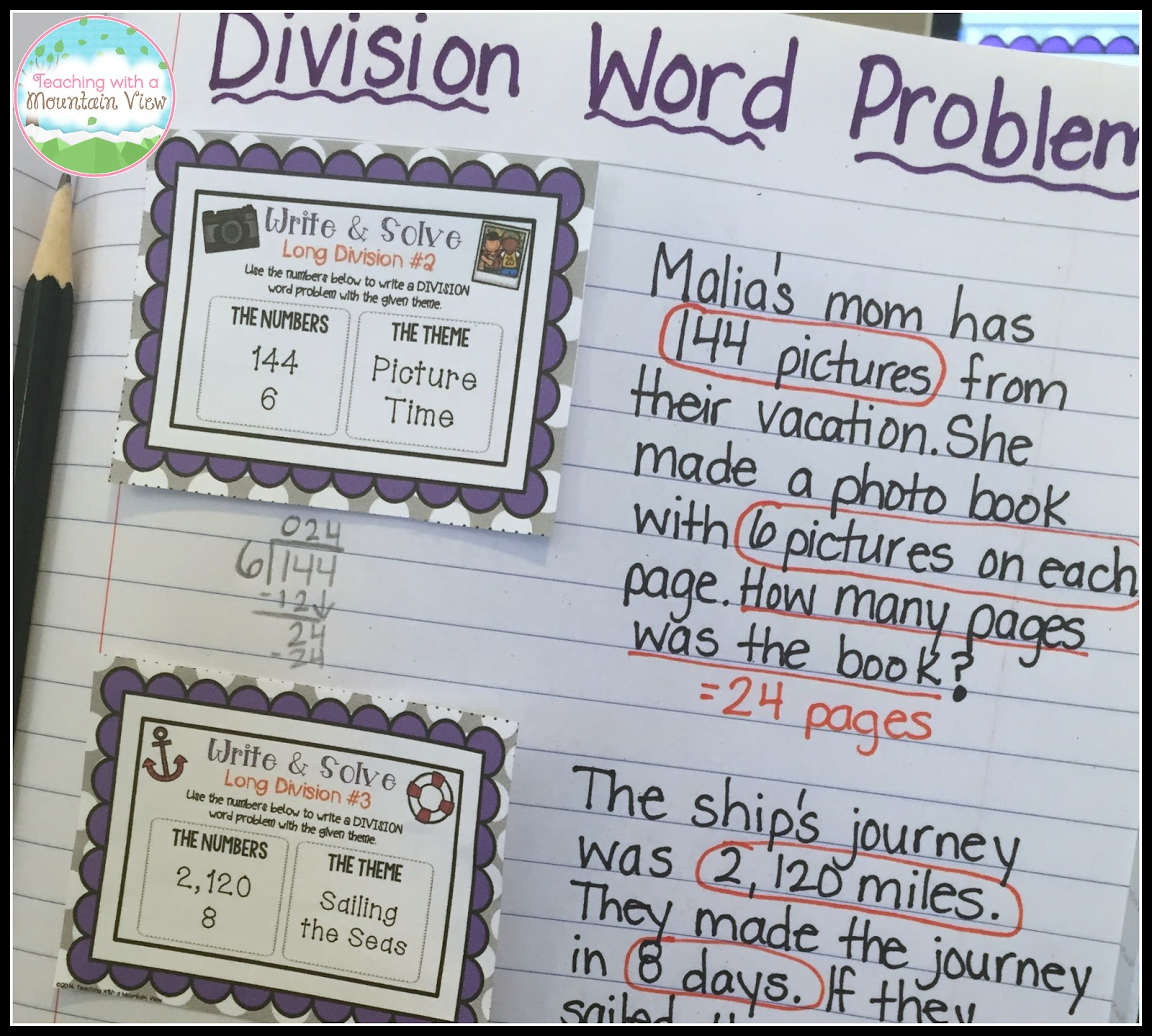 Teaching With A Mountain View Teaching Long Division