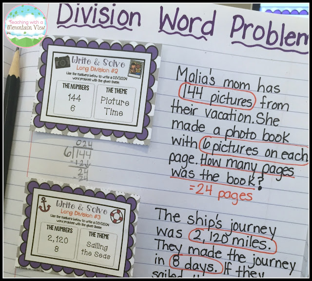 Heres How I Teach Long Division – Division Word Problems with Remainders Worksheets