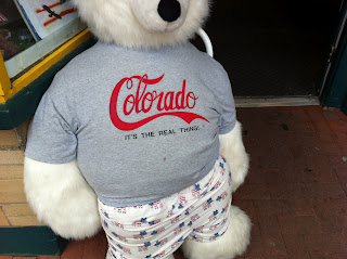 Colorado T-shirt with Coca-Cola font