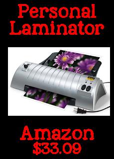 teacher tools, teacher must-haves, scotch laminator