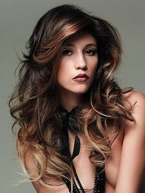 another key element for hair coloring ideas for dark hair is the skin