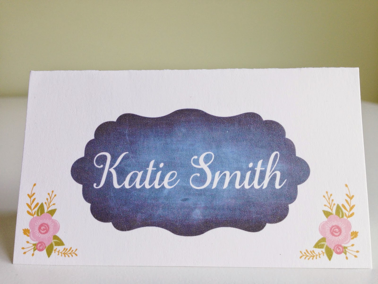 Wedding Place Cards & Wedding Escort Cards by Designed By M.E. Stationery