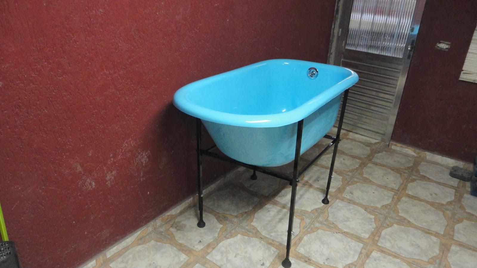 Cooper Fibra Comércio de Fibra ltda: Banheira pet shop modelo  #1299B9 1600x900 Banheiro De Fibra De Vidro