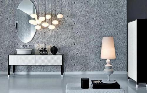 Simple home into a luxury home decor bathroom design 2012 for Bathroom decor 2012