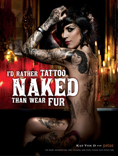 nude tattooed girls. more kat von d wallpapers.