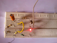delay timer on breadboard