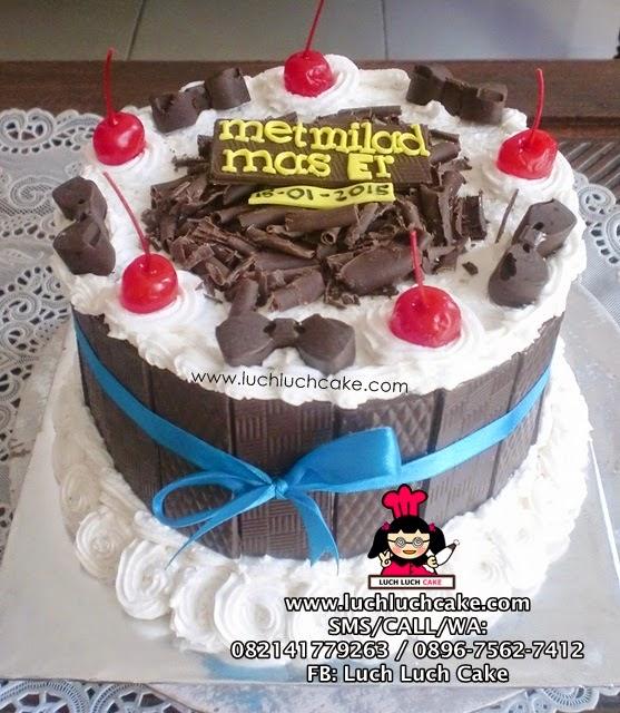 Kue Tart Blackforest Coklat Daerah Surabaya - Sidoarjo