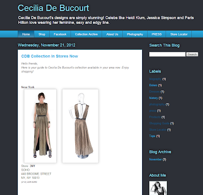 Cecilia de Bucourt cdbstore dress