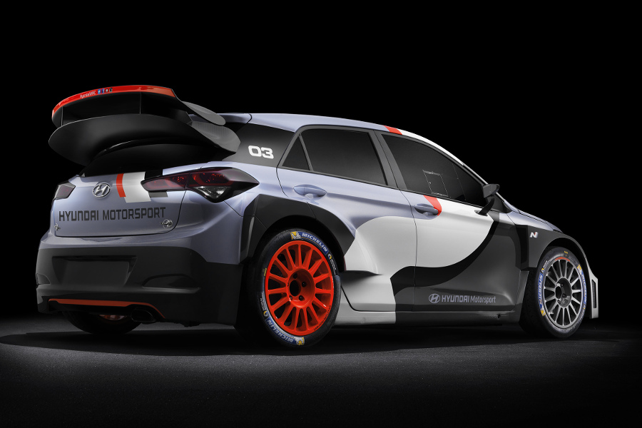 2016 hyundai i20 wrc unveiled autoesque. Black Bedroom Furniture Sets. Home Design Ideas
