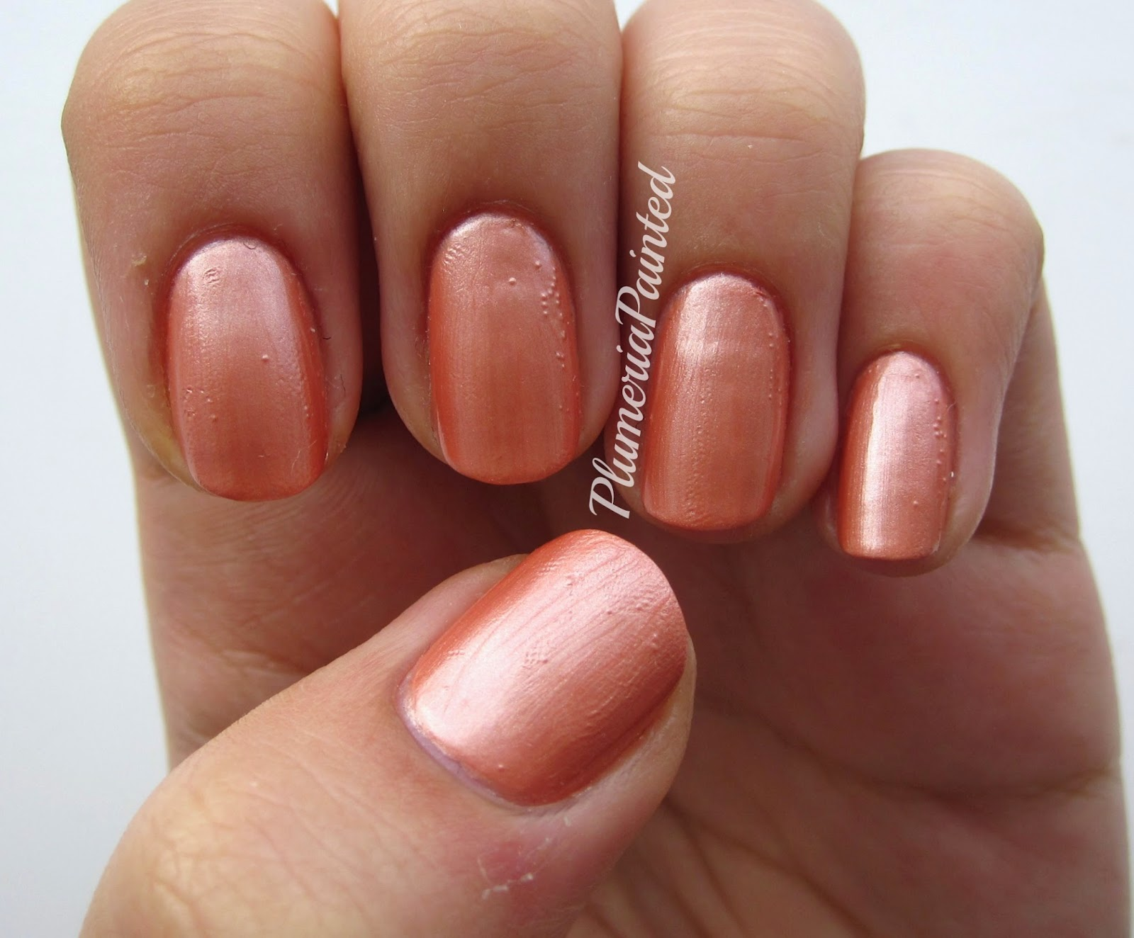PlumeriaPainted: Peach Nails: Paris Collection - Brown Beaute