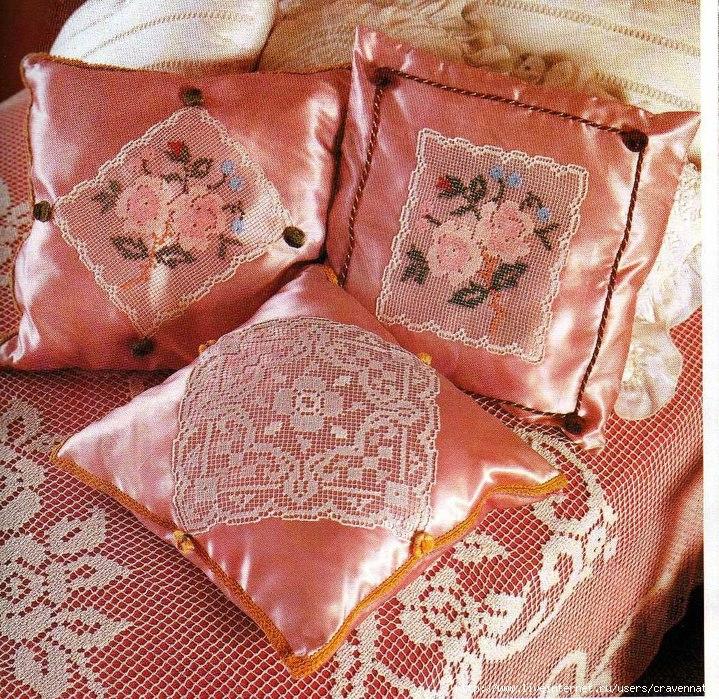 Вязание крючком пледы подушки покрывала