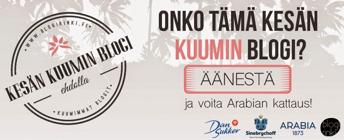 http://www.blogirinki.fi/kesankuuminblogi/