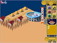 Jogo de Construir Cidades em Roma