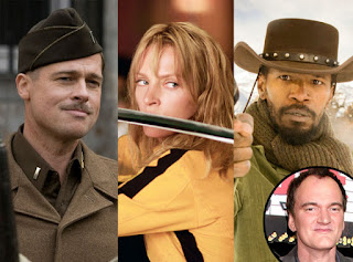 Les gaffes dans les films: Inglourious Basterds, Kill Bill et Django Unchained de Quentin Tarantino