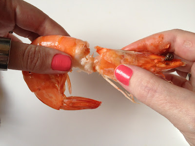 how to peel king prawns