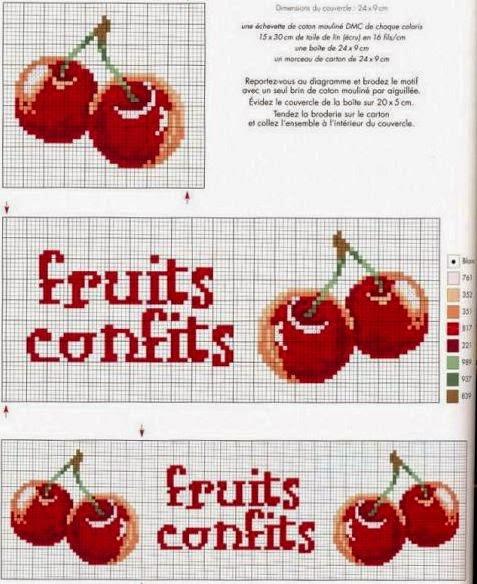 Бесплатные схемы вишни