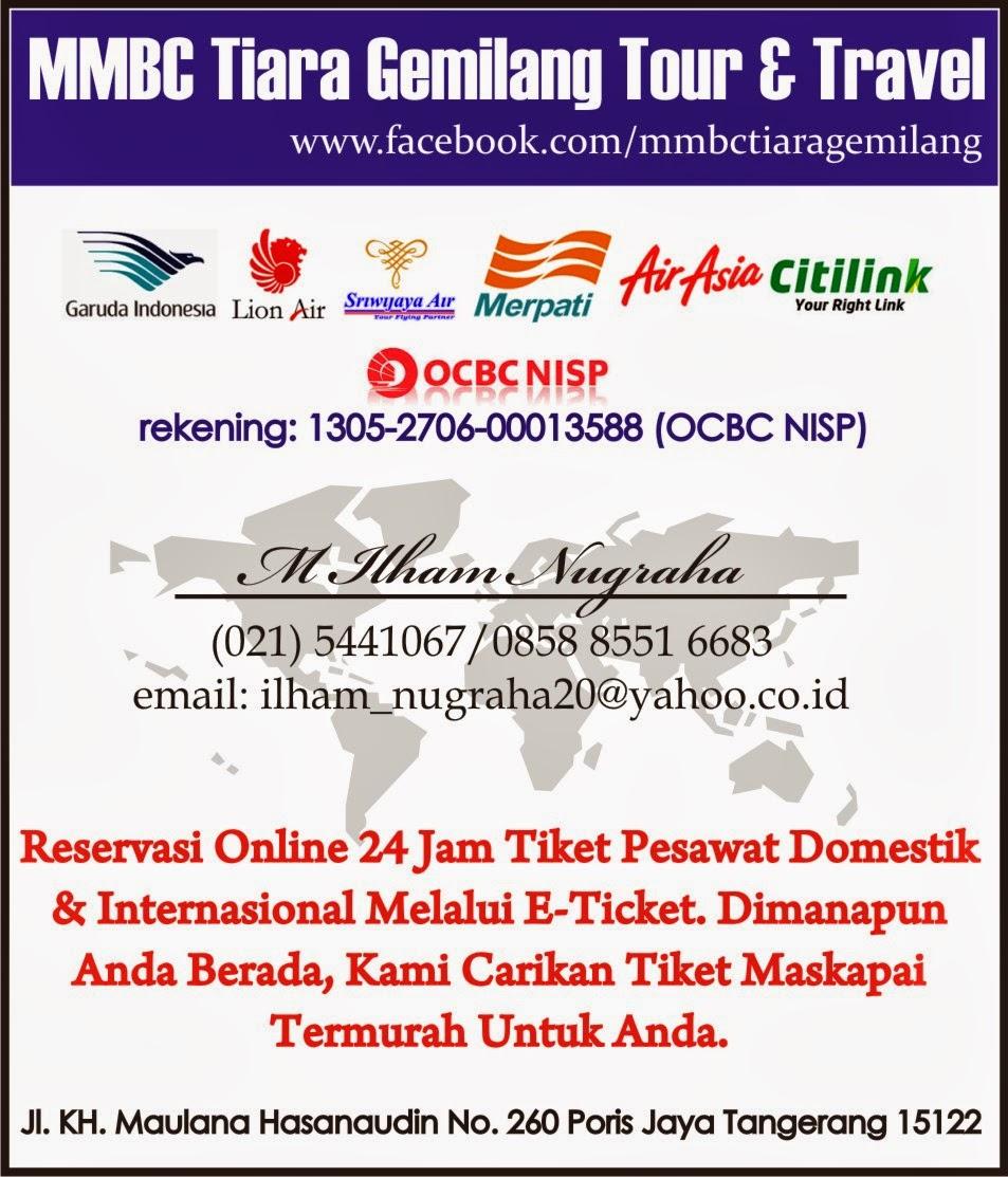 Reservasi Online Tiket Pesawat Murah