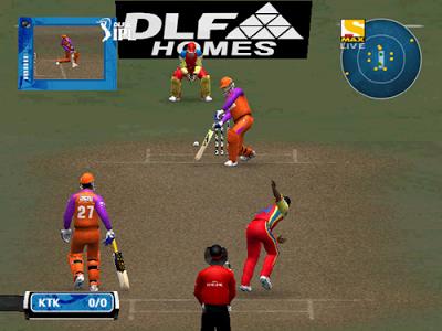 EA Cricket 2013 IPL 6 System