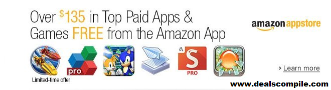 Amazon Android Appstore giving away 165$ worth android apps for free